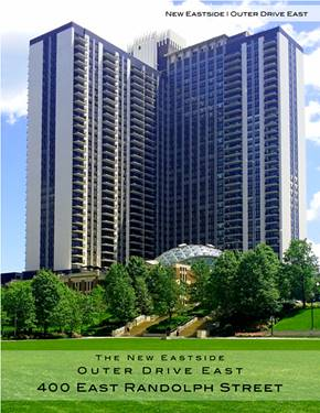 400 E Randolph Unit 1512, Chicago, IL 60601 New Eastside