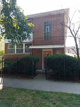 7130 N Paulina Unit 2, Chicago, IL 60626