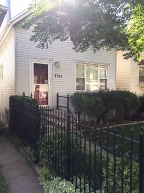 2743 N Maplewood, Chicago, IL 60647