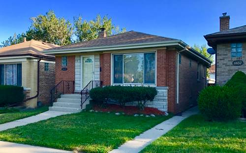 6655 W Gregory, Chicago, IL 60656