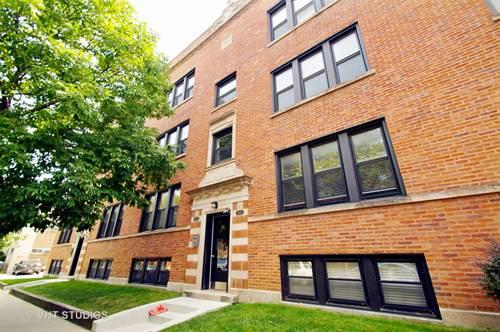1525 W Cullom Unit 2, Chicago, IL 60613 Uptown