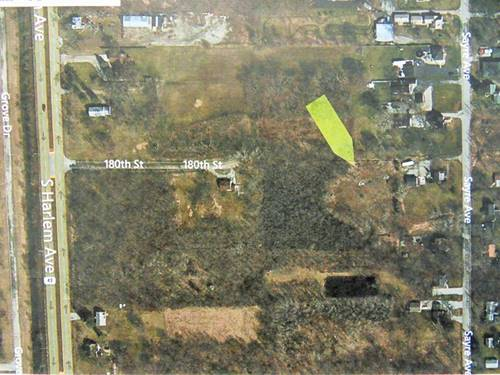 Lot 25 180th, Tinley Park, IL 60477
