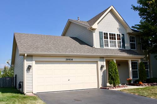 20930 W Ardmore, Plainfield, IL 60544