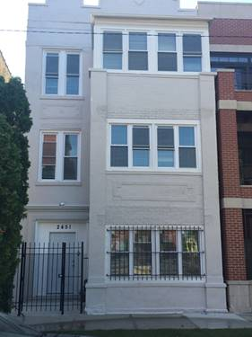 2451 W Rice Unit 3, Chicago, IL 60622