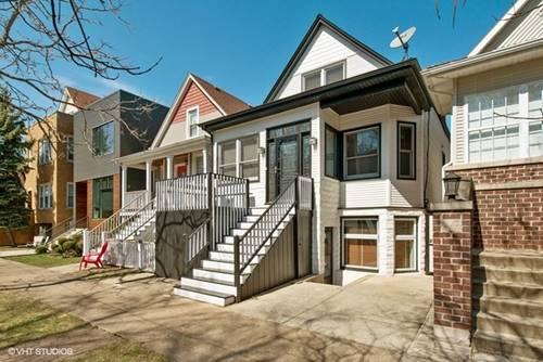1822 W Cuyler, Chicago, IL 60613 North Center