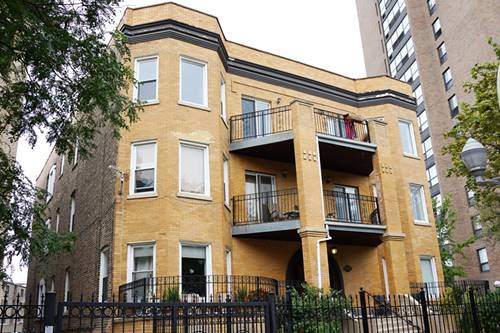 834 W Belle Plaine Unit 3W, Chicago, IL 60613 Uptown