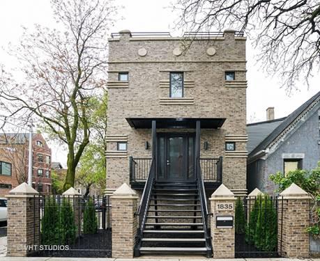 1835 W Wabansia, Chicago, IL 60622 Bucktown