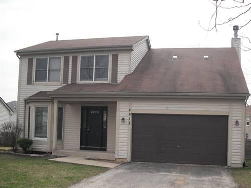 4918 Clover, Plainfield, IL 60586
