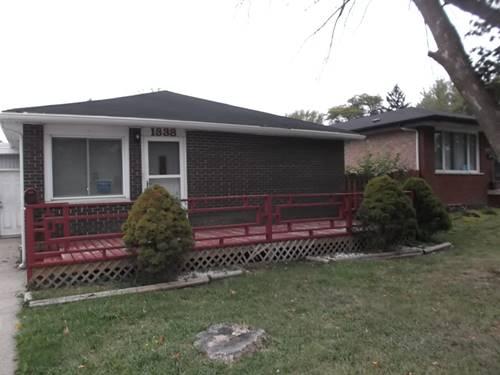 1338 Gordon, Calumet City, IL 60409