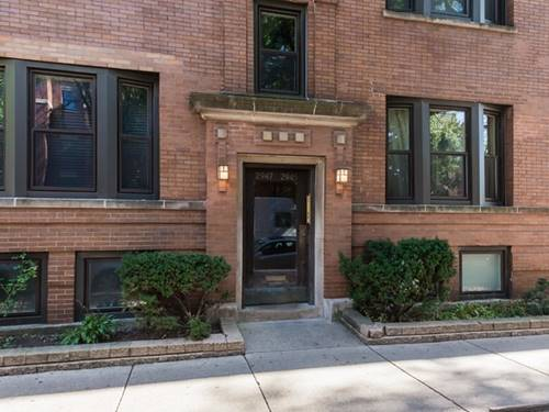 2945 N Sheffield Unit 2S, Chicago, IL 60657 Lakeview