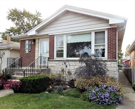 4722 N Octavia, Harwood Heights, IL 60706