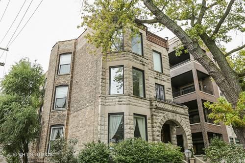 615 W Briar Unit 3, Chicago, IL 60657 Lakeview