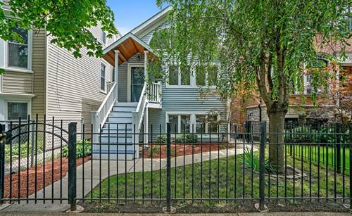 3043 N Hamilton, Chicago, IL 60618 West Lakeview