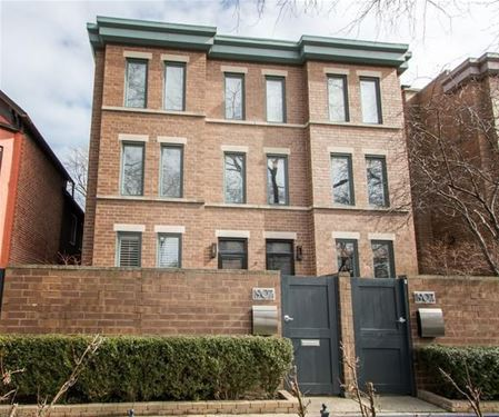 1907 N Cleveland Unit D, Chicago, IL 60614 Lincoln Park