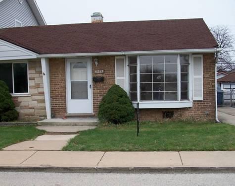 4215 W 87th, Hometown, IL 60456