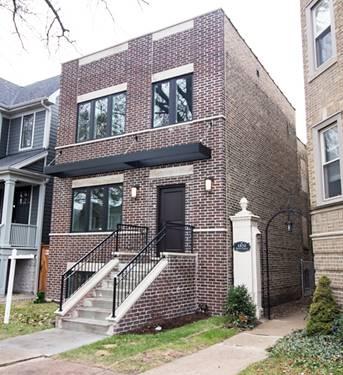 4846 N Oakley, Chicago, IL 60625 Lincoln Square