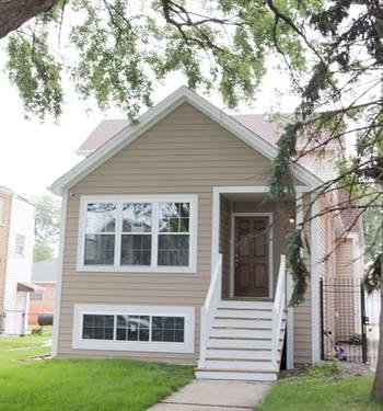 4827 W Warwick, Chicago, IL 60641