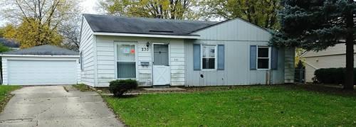 230 W Kennedy, Streamwood, IL 60107