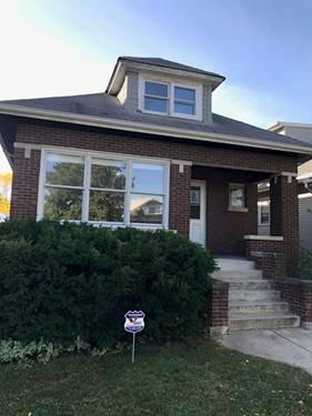 5815 W Warwick, Chicago, IL 60634