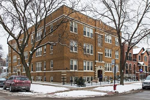 1624 W Grace Unit 3, Chicago, IL 60613 Lakeview