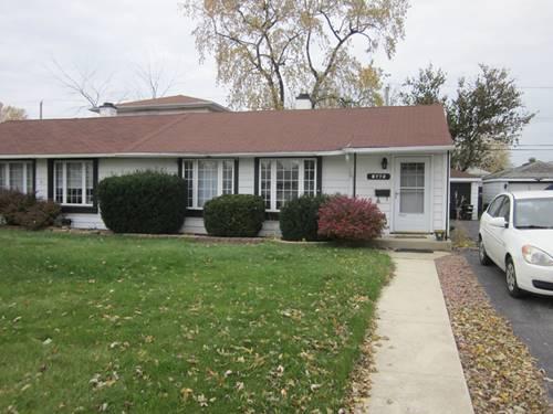 8772 S Corcoran, Hometown, IL 60456
