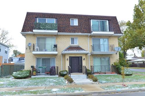 6534 W Montrose Unit 1W, Harwood Heights, IL 60706