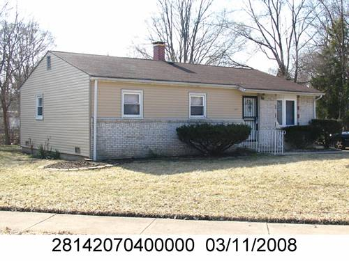 3301 Roesner, Markham, IL 60428
