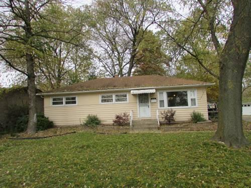 815 W 187th, Glenwood, IL 60425