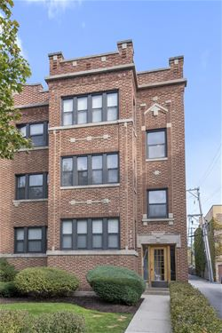 4013 N Southport Unit 2, Chicago, IL 60613 Uptown