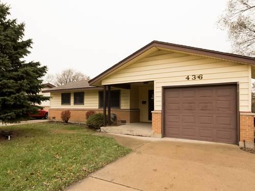 436 Landmeier, Elk Grove Village, IL 60007