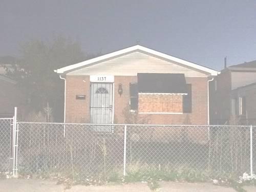 1137 W 110th, Chicago, IL 60643