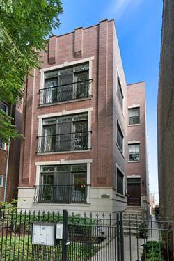 3921 N Greenview Unit 3, Chicago, IL 60613 Lakeview