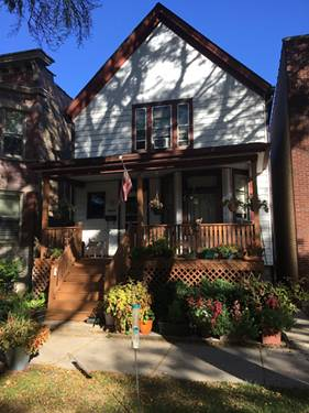 4843 N Bell, Chicago, IL 60625 Lincoln Square