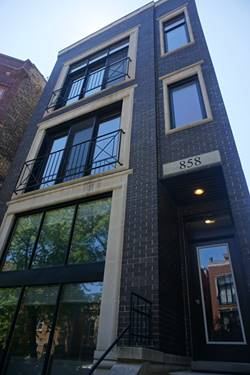858 N Hermitage Unit 3, Chicago, IL 60622 Noble Square