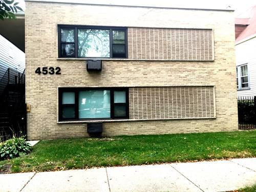 4532 N Claremont, Chicago, IL 60625 Lincoln Square