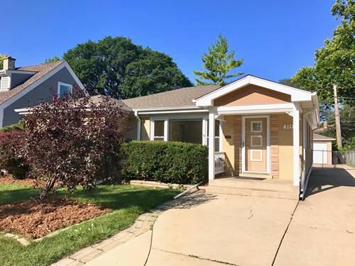 824 Florence Unit HOUSE, Park Ridge, IL 60068