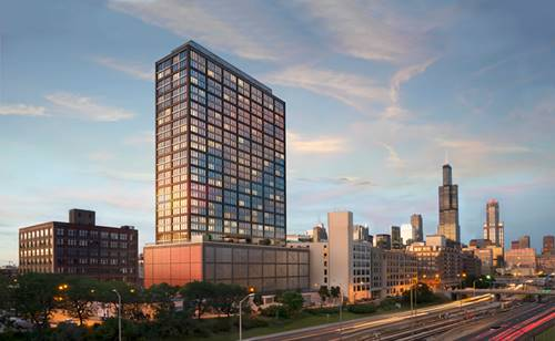 1035 W Van Buren Unit 2208, Chicago, IL 60607 West Loop