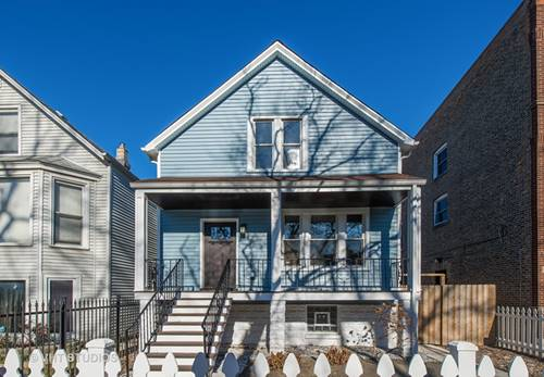 3322 W Berteau, Chicago, IL 60618