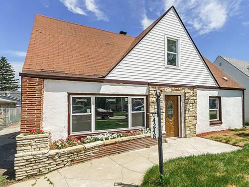 4248 W 99th, Oak Lawn, IL 60453