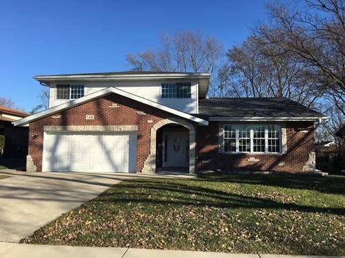 749 Elm, Flossmoor, IL 60422