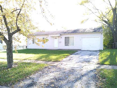 2440 222nd, Sauk Village, IL 60411