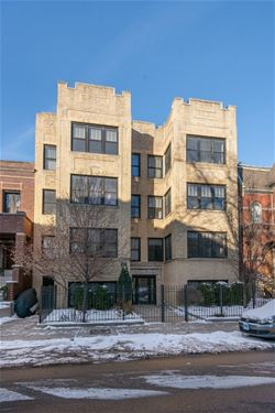 2144 W Concord Unit 3, Chicago, IL 60647 Bucktown