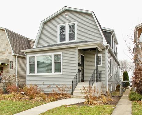 5478 N Monitor, Chicago, IL 60630