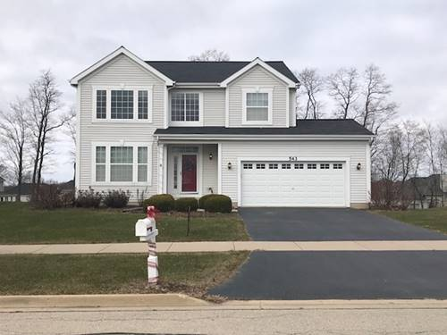 543 Parkside, Yorkville, IL 60560