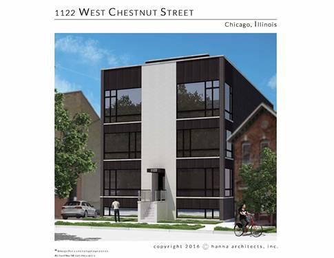 1122 W Chestnut Unit 3W, Chicago, IL 60642