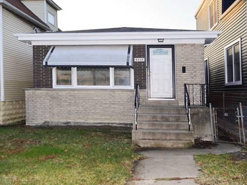 4430 N Cicero, Chicago, IL 60630