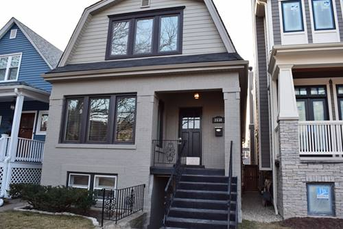 3538 N Hamilton Unit 1, Chicago, IL 60618 Roscoe Village