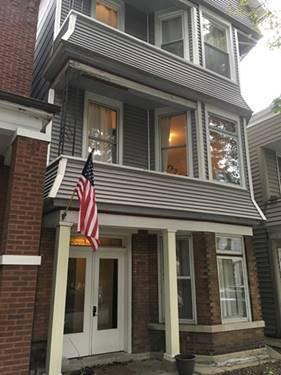 3249 N Hoyne Unit 3, Chicago, IL 60618 Roscoe Village