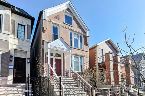 1827 N Paulina Unit 3, Chicago, IL 60622 Bucktown