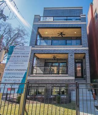 3614 N Damen Unit 1, Chicago, IL 60618 North Center